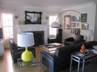 The living room was recently decorated by an up-and-coming L.A. interior firm. No boring IKEA here! - Gorgeous classic Hollywood house - Los Angeles - rentals