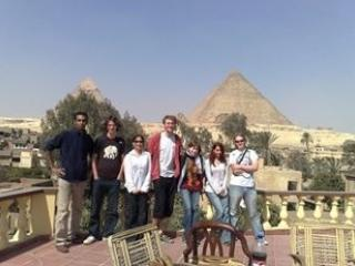 Pyramids view apartment for rent 40$/night - Giza vacation rentals