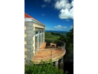The award-winning view from Drake\'s View - Drake's View: Voted Best View in the Caribbean - Saint John - rentals