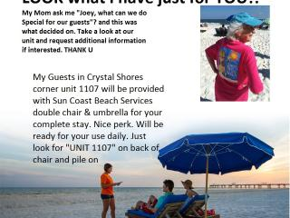 CRYSTAL SHORES, Great corner unit wrap around deck - Gulf Shores vacation rentals