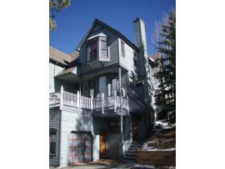 exterior view - Charming Victorian Ridge Unit - 1 Block Off Main - Breckenridge - rentals