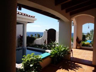 Entrance and pool - MAGNIFICENT VILLA COSTA LOTTA BY THE OCEAN - West Bay - rentals