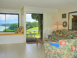 Sealodge J2: Oceanfront views all the way to the lighthouse! Ground floor 1br - Princeville vacation rentals