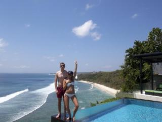 Oceanfront Clifftop Suluban Cliff  Bali Villa - Bali vacation rentals
