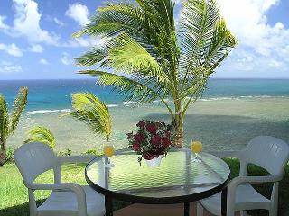 Sealodge J3: Oceanfront views from every window, ground floor 1br/1ba - Princeville vacation rentals