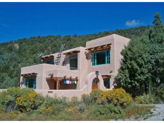 Retreat at Rancho Canyon with forest beyond - Retreat at Rancho Canyon- Best of Taos, NM - Taos - rentals