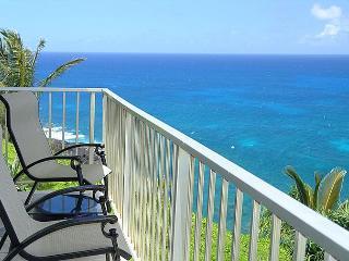 Alii Kai 3204: Prime oceanfront views, top floor corner, very private! - Princeville vacation rentals