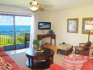 Alii Kai 5201: Charming second floor corner, oceanfront views. - Princeville vacation rentals