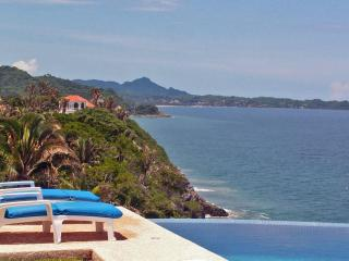 Casa Melissa - Oceanfront fab views, pool,  tennis - San Pancho vacation rentals
