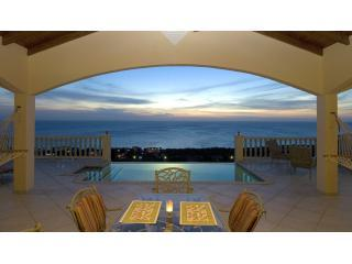 Perfect Sunset of Caribbean Sea with vanishing edge Pool - Flamingo Villa - Save in 2016!! - Willibrordus - rentals