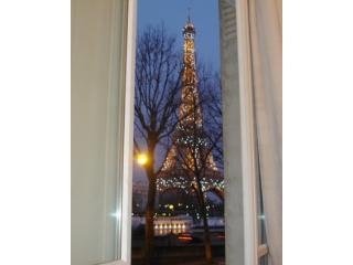 Eiffel Tower View from Vacation Apartment - 18th Arrondissement Butte-Montmartre vacation rentals