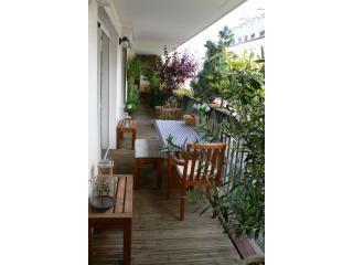 Terrasse2 - Great 2BR 1BA (+terrace) Rue Duhesme-Montmartre - Paris - rentals