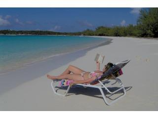BEST BEACH VILLA sleeps 8 + FREE 8 SEATER TOYOTA - Great Exuma vacation rentals