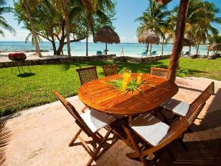 Chac Hal Al F-103 Casa Begonia right on the beach - Puerto Aventuras vacation rentals