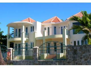 Beachside of the House - Seashell Villas -  A Luxury Beachfront Home - Rincon - rentals