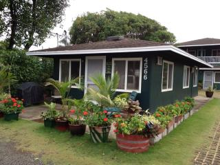 Kapaa downtown Coconut Coast  East  Side cottage - Kapaa vacation rentals