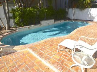 STUNNING UPDATED HOME LARGE HTD POOL STEPS 2 BEACH! - Lauderdale by the Sea vacation rentals