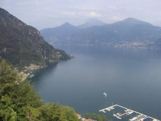 The view from the living room window - Menaggio panoramic lake view home with pool. - Lake Como - rentals