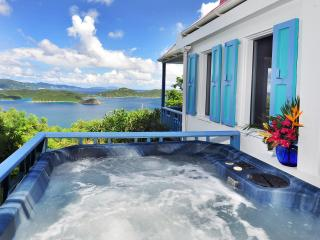 Sago Cottage: Romantic, private, spa. fantastic view - Virgin Islands National Park vacation rentals