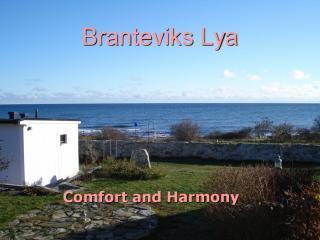 Branteviks Lya facing the Baltic Sea - Brantiviks Lya, Österlen - Skåne - rentals