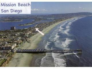 Our Location in Mission Beach - Mission Bay Hideaway - Pacific Beach - rentals