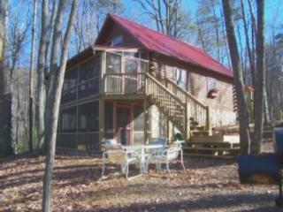 Antler Ridge Getaway, The Perfect Mountain Retreat With Formal Fire Pit Area & Multi Level Decks! - Secluded/View/Huge Deck & Firepit/Hot Tub/Pet Fdly - Blue Ridge - rentals