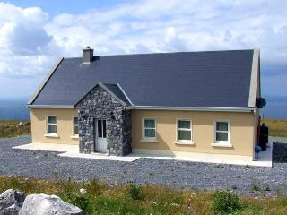 VIEW OF THE BURREN, country holiday cottage, with a garden in Fanore, County Clare, Ref 2605 - County Clare vacation rentals