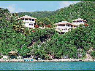 "OCEANFRONT LUXURY! PRIME JAN. & FEB. WEEKS!  WELCOME DINNER! 76 ""5-STAR"" Reviews - Virgin Gorda vacation rentals"