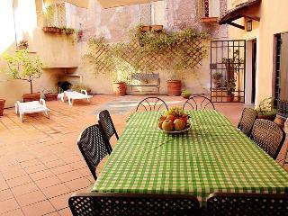 RetRome Navona roof garden.  design & top location - Rome vacation rentals