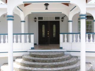 Villa front entrance 2009 - Villa Vidal Dominica - Dominica - rentals