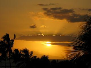 Sunset Lanai View from your Maui Vista Resort Condo - Top Rated OceanVU2bdrm, Book 4  Summer! $50 off/nt - Kihei - rentals