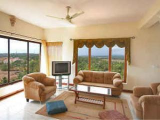 Living Area - GOA 4 Bed/ 4 Bath Luxury Apt with Panoramic views - Dona Paula - rentals