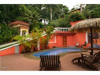 Villa Las Rocas, The Monkey House and Casa Eclectica from the pool deck - Shelter from the Storm  Villas with Hotel Service - Dominical - rentals