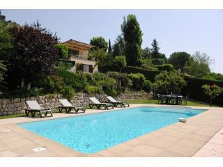 Private Pool 9 metres by 4.5 metres - Sea View of Cote D'Azur, Superb Pet-Friendly Villa with Private Pool - Saint-Jeannet - rentals