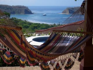 View from veranda hammock - Beautiful Casa Pastor-Ocean Views From Every Room - Playa Samara - rentals