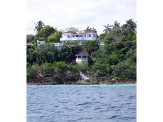 View of Villa from sea - Quadrille Villa, Silver Sands, Jamaica - Silver Sands - rentals