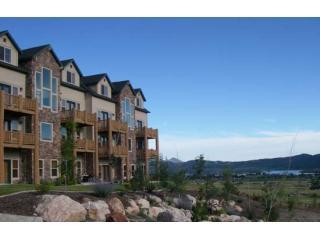 MH outside - Eden Luxury! Spectacular Views. End Unit w/Wall of Windows. Minutes to Skiing. - Eden - rentals