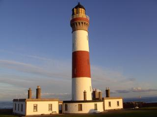 Buchan Ness lighthouse,