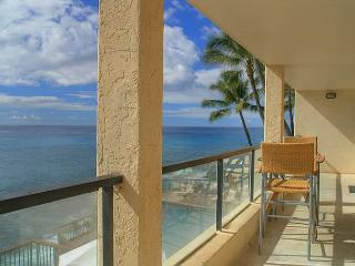 Poipu Shores B202: Amazing oceanfront views, watch sunrise and sunset! - Poipu vacation rentals