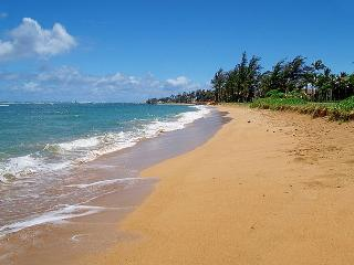 Pono Kai G204: Air-conditioned 1br/1ba with view, steps to beach, bargain!!! - Kapaa vacation rentals