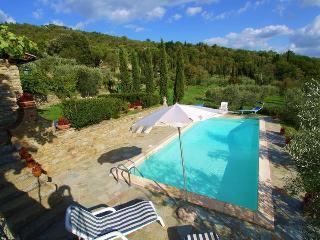 Villa Eugenio,  authentic villa walk to village - Cortona vacation rentals