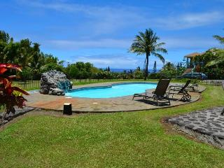Ocean view private studio, pool, organic farm, - Haiku vacation rentals