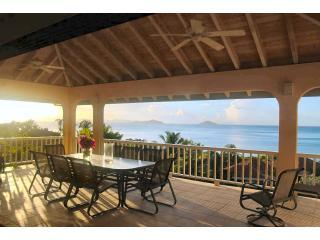 View ot the bay from the great room deck - Adagio Villa - Virgin Gorda - rentals