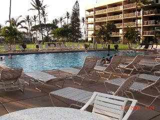 Maui Sunset 120B ~ 2 Bedroom, 2 Bath, Ground Floor close to Pool! - Kihei vacation rentals