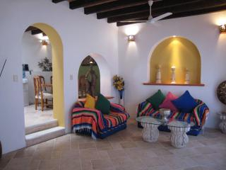 Living area 11 ft ceilings - First class location!  Aspiring views, Pool ...it will exceed your expectations! - Puerto Vallarta - rentals