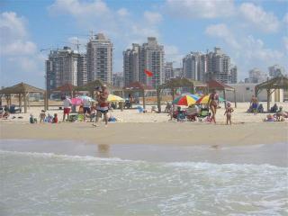Luxury Seafront Apartment on Poleg Beach Netanya - Netanya vacation rentals