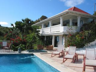 pool area - living/dining/kitchen house - Les Petits Pois - Colombier - rentals