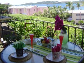 Breakfast on your balcony - Sea Side Studio - Saint Thomas - rentals