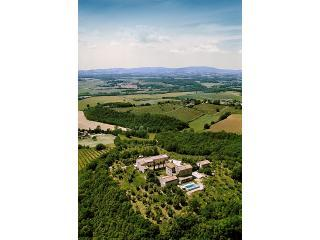 Montecastelli Aerial View - 1000 year old Villa in a Nature Reserve - Siena - rentals