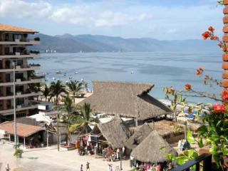 View from Balcony - Old Town 1 br on Los Muertos Beach Plaza Mar 606 - Puerto Vallarta - rentals
